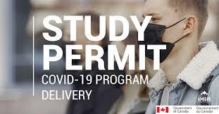 Covid19 study permit